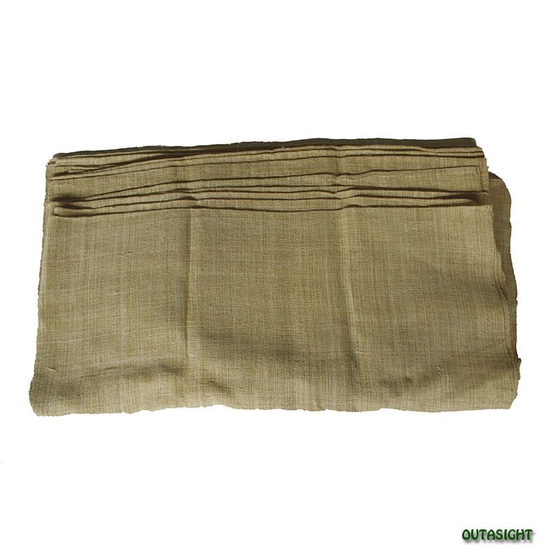 ヘンプ(麻)反物生地 手紡ぎ 手織 ナチュラル タイ TMR-56