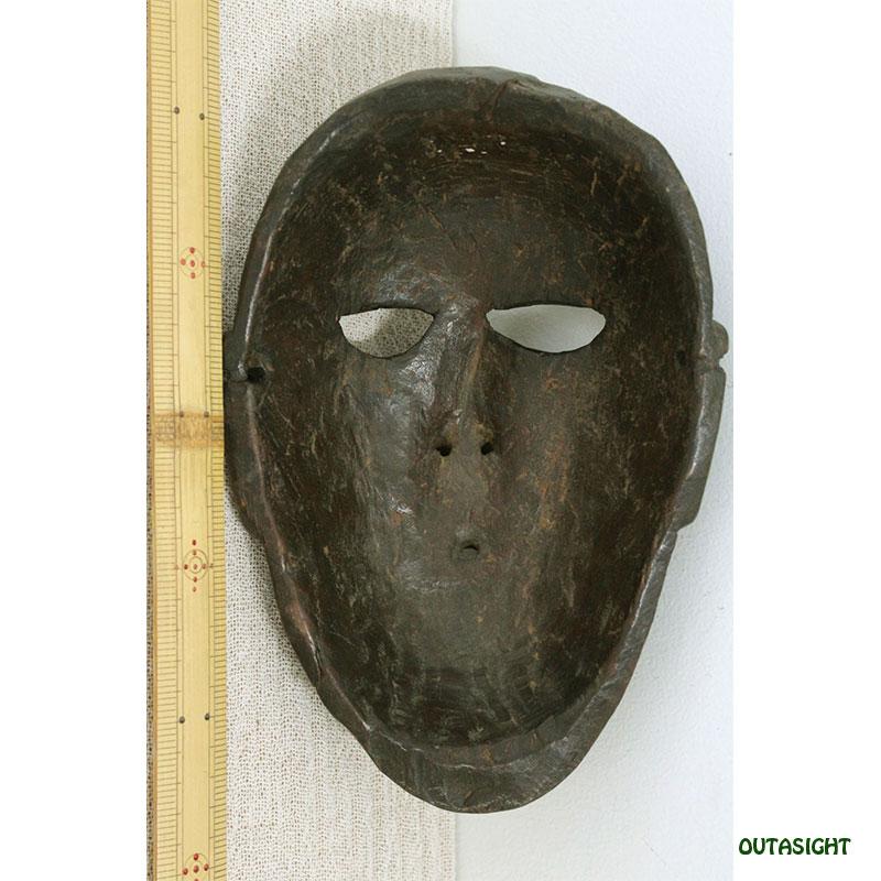 木彫りマスク(お面) ネパール NAM-19