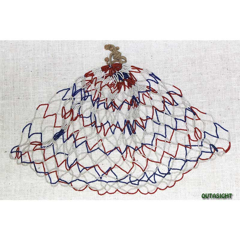 ビーズネックレス アンティーク タル族 ネパール THN-01