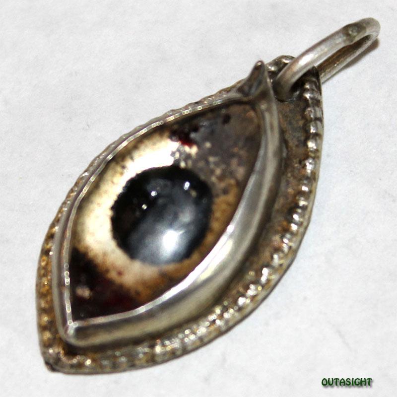 シルバー ペンダントトップ 神の眼 アンティーク インド 63011201-12