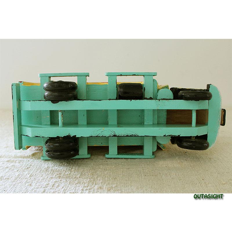 木製 貨物トラック 彩色 新古品 ネパール NNO-09