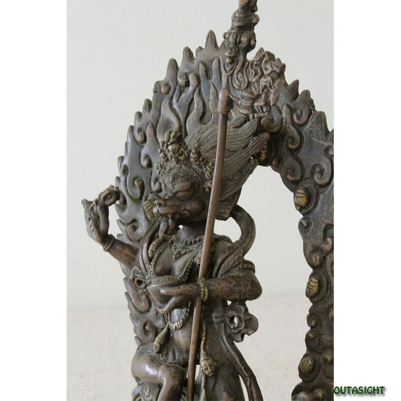 バラヒ 真鍮製像 ネパール NNS-03