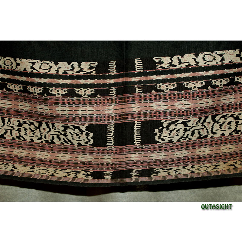 イカット 手織りB サブ島 インドネシア INAT-08