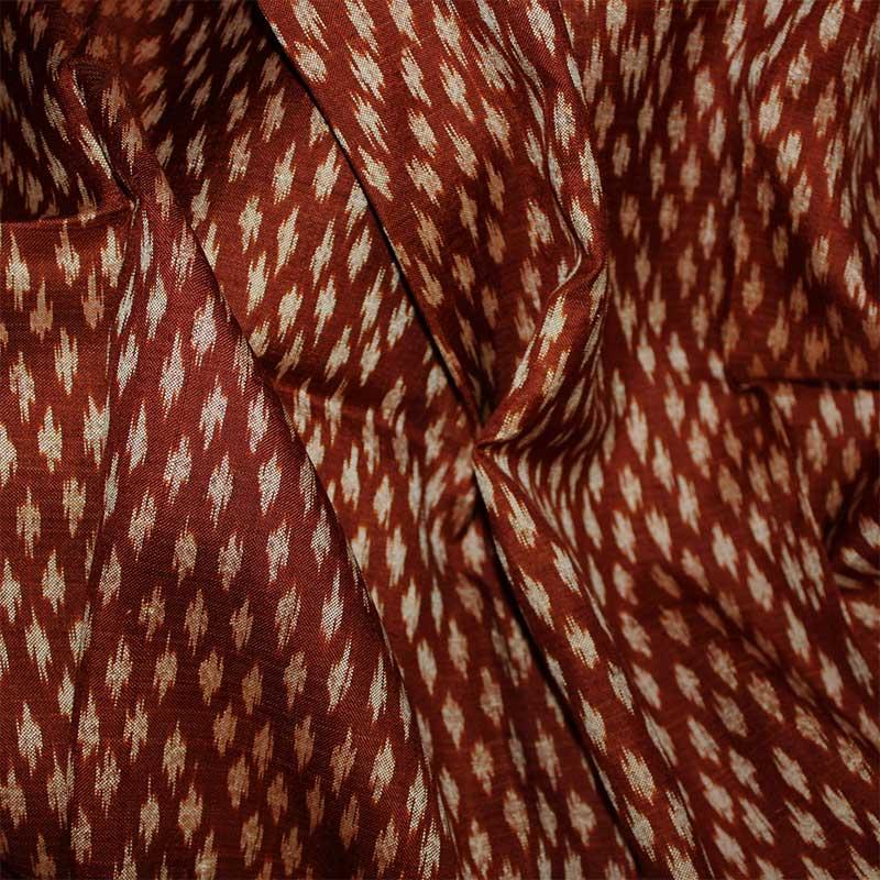 手織り絣布 100%シルク タイ TWIS-08