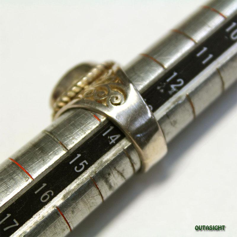 オールドターコイズシルバーリング SRTN-14