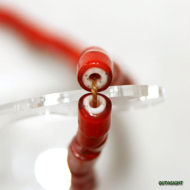 ホワイトハーツ(ホワイトハート)ビーズ 一連 アンティーク WHP-B4