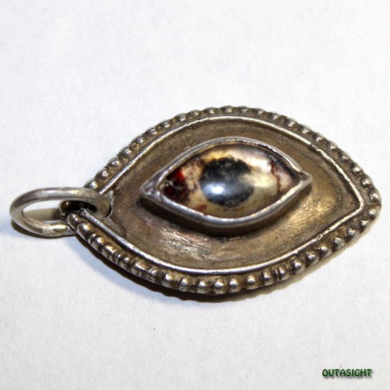 シルバー ペンダントトップ 神の眼 アンティーク インド 63011201-14