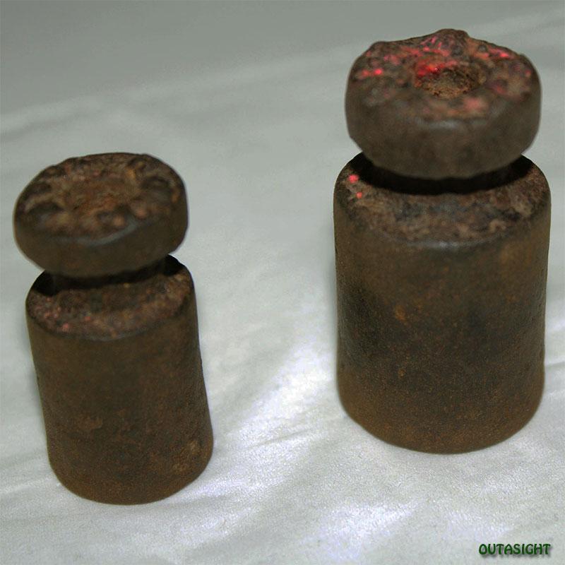 分銅(ふんどう) アンティーク ネパール NAO-31