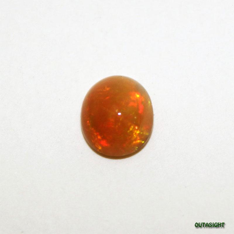 エチオピア オパール オレンジ ルース 天然石 IST-346
