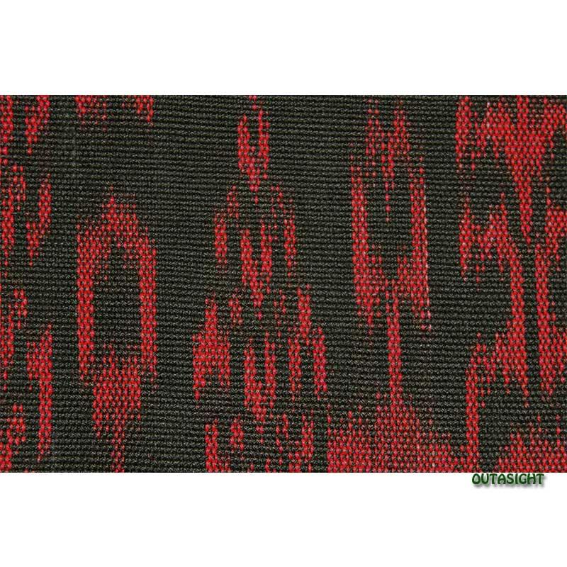 グァテマラ コットンかすり反物生地 手織 GNT-02