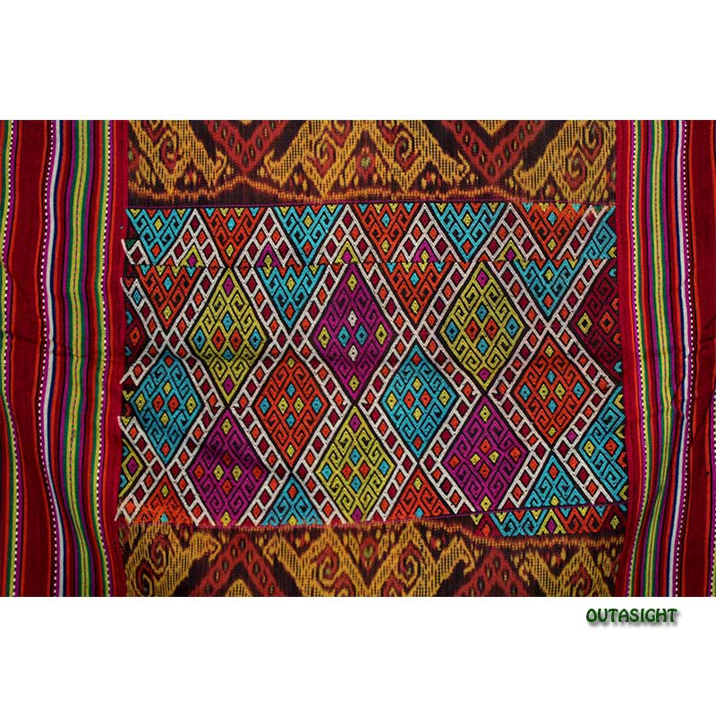 イカット 手織り ティモール島 インドネシア TIMOW-F