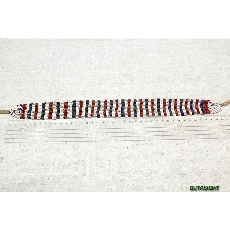 ビーズネックレス アンティーク タル族 ネパール 1001-B
