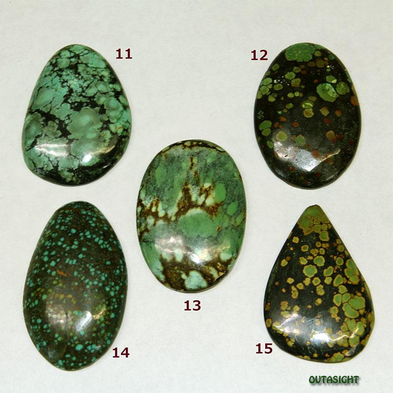 チベタンターコイズ ルース 天然石 5514-14