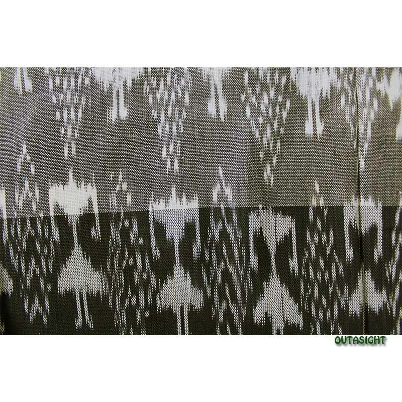 グァテマラ コットンかすり反物生地 手織 GNT-06