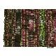コットン(木綿)反物生地 手織 草色+長春+黒色 かすり タイ TMR-74