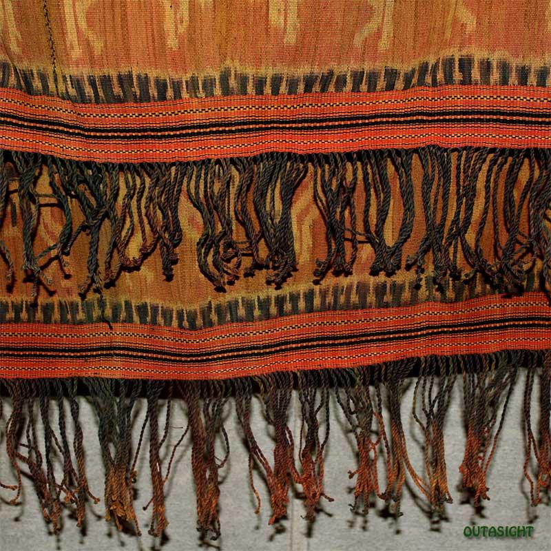 イカット 手織り オールド スンバ島 インドネシア INAT-06
