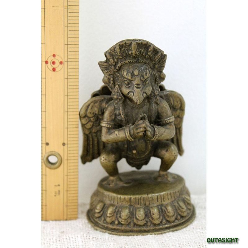 ガルーダ 真鍮製像 アンティーク ネパール NAS-02