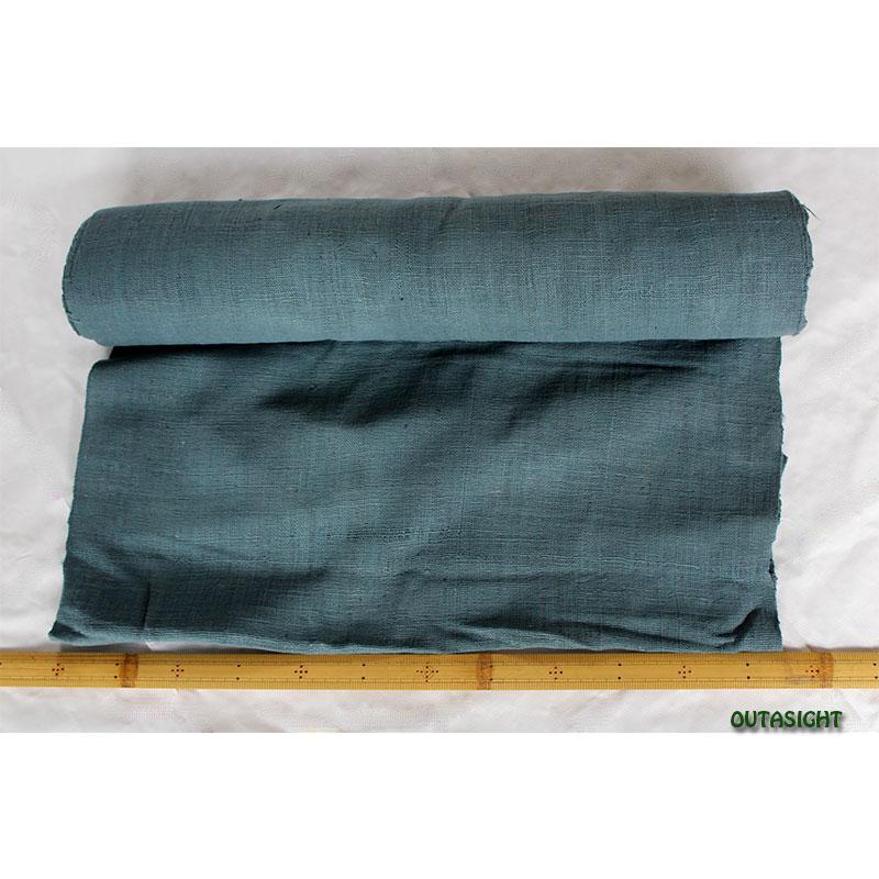 タイ コットン(木綿)反物生地 手紡ぎ 手織 舛花(ますはな)色 TNT-10