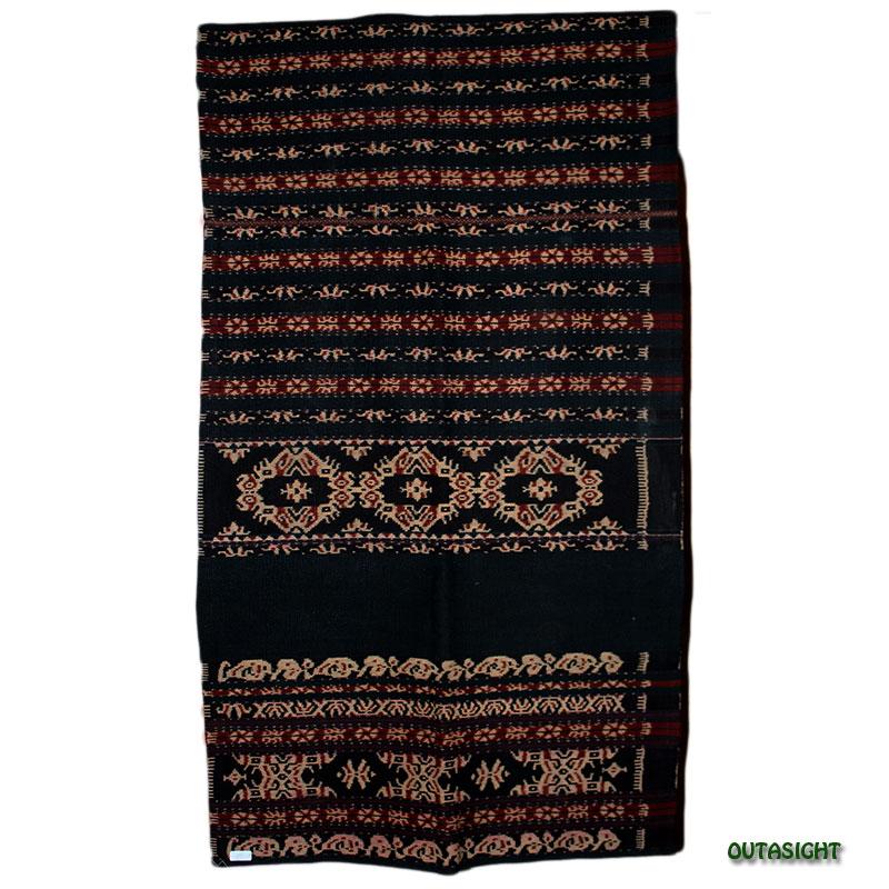 イカット 手紡ぎ 手織り 草木染 腰衣C アンティーク サブ島 インドネシア