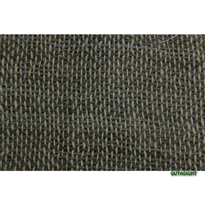 コットンスカーフ 手紡ぎ 手織 岩井茶(いわいちゃ)色 タイ TNTS-17