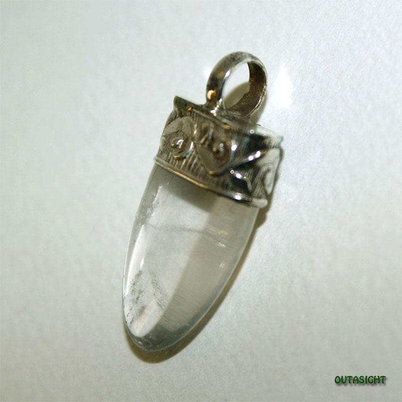 クォーツ(水晶) シルバー ペンダントトップ NS-48