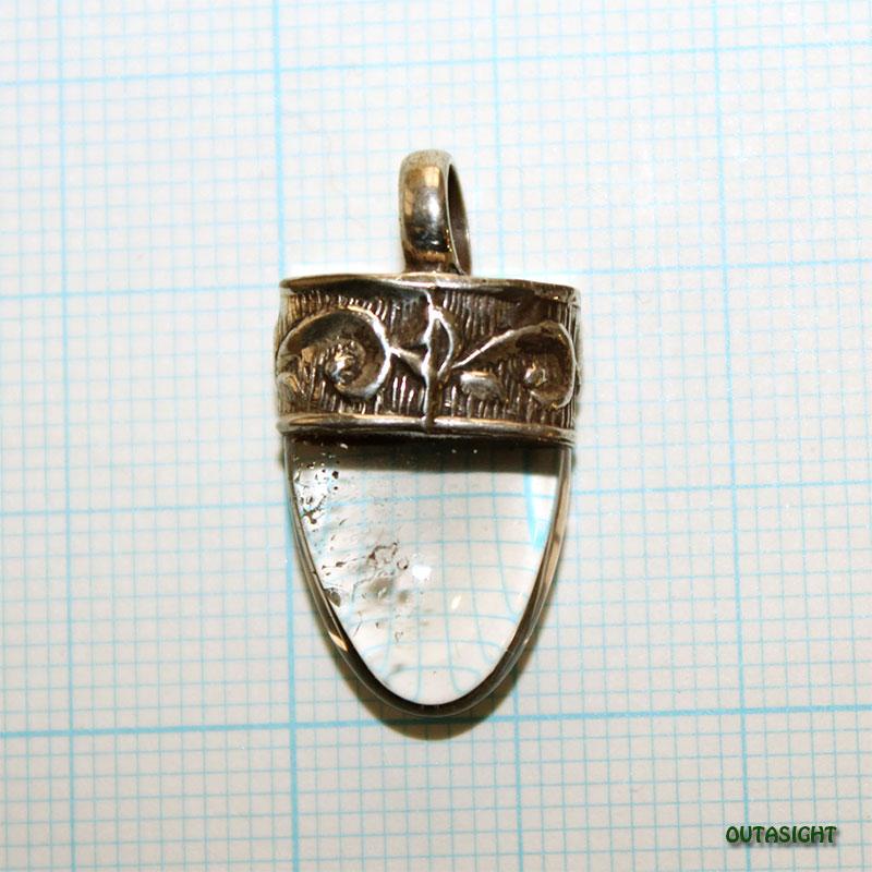 クォーツ(水晶) シルバー ペンダントトップ NS-50
