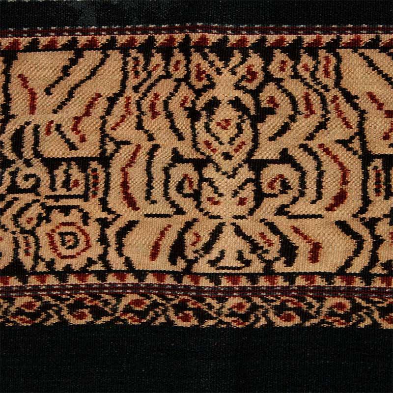 イカット 手紡ぎ 手織り 草木染 腰衣B アンティーク サブ島 インドネシア