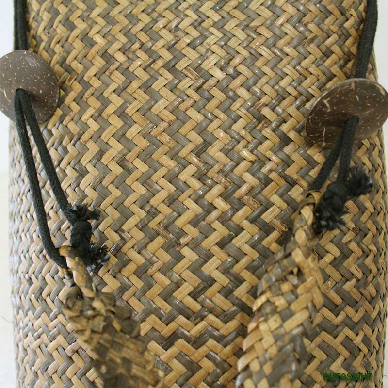 ラタンボルネオバッグ 背負いかご インドネシア INNB-98