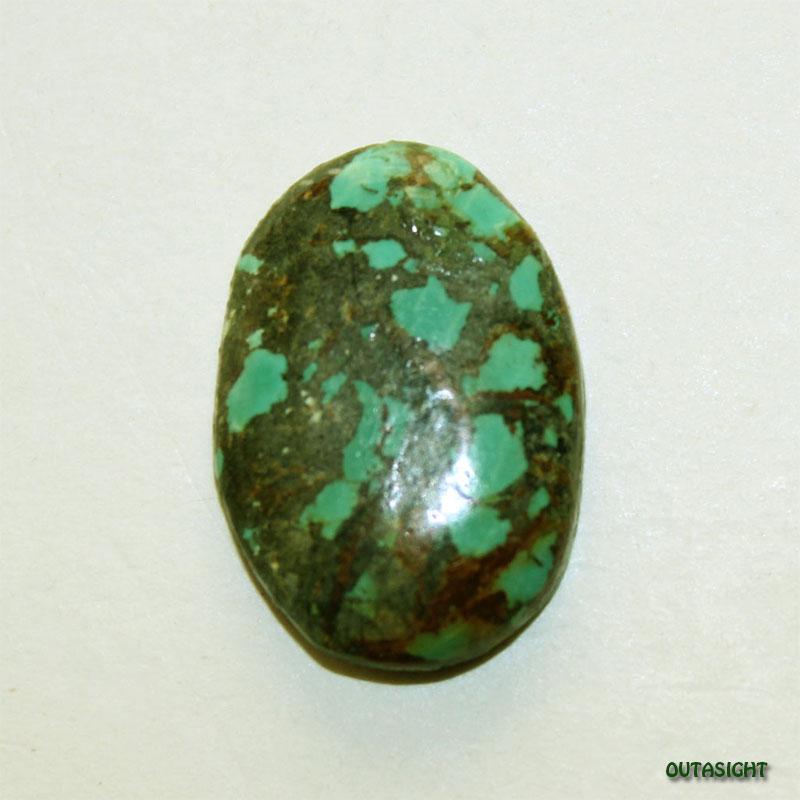 チベタンターコイズ ルース 天然石 IST-196