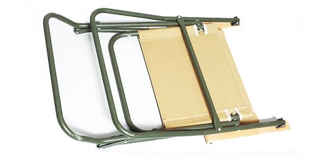 イギリス軍タイプ フォールディング ローバーチェア カーキ/KH