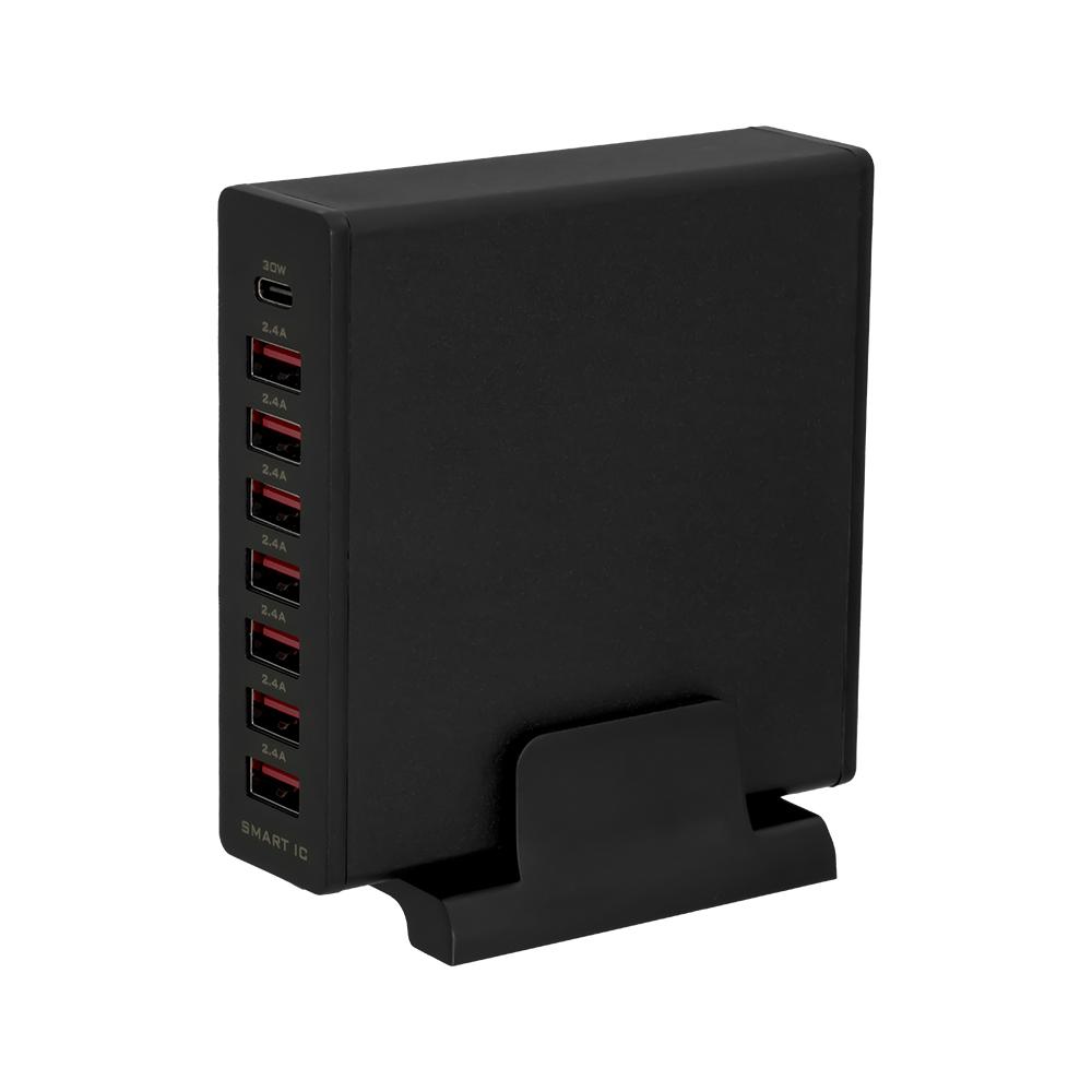 8ポートAC充電器 PowerDelivery 30W Type-C×1+USB Type-A×7 合計72W (OWL-APD72C1A7)