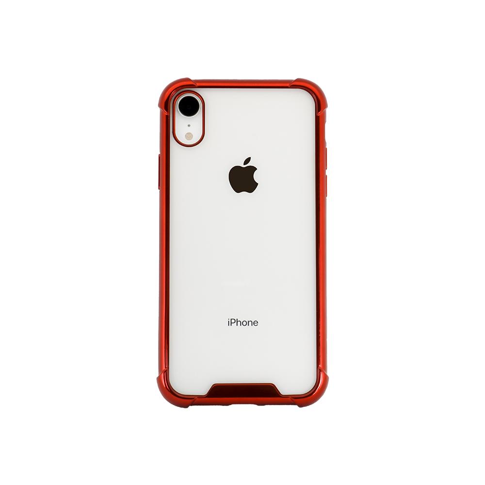 iPhone XR 対応 落下防止リング付き 耐衝撃ハイブリッド ケース(OWL-CVIA6120)