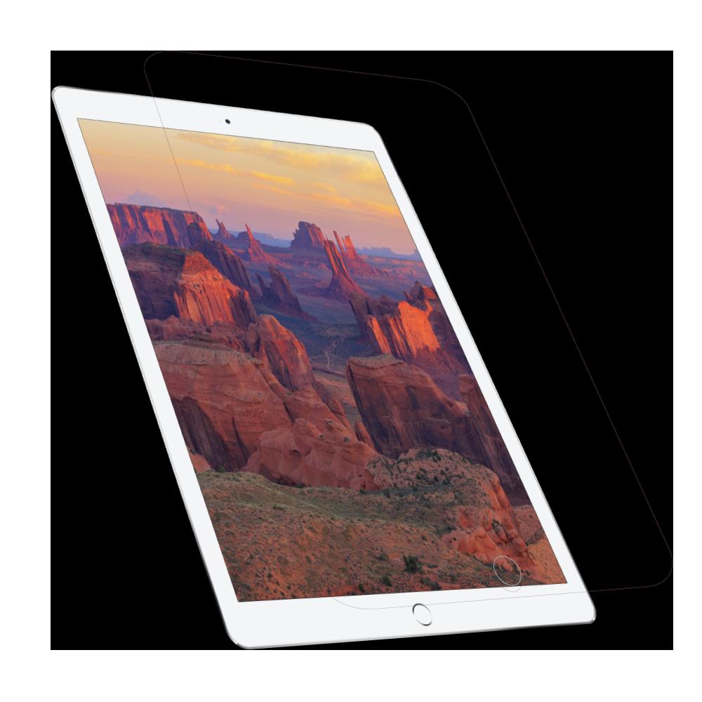 iPad 9.7インチ対応 画面保護 耐衝撃強化ガラス 光沢クリア(OWL-GTIA97-CL)
