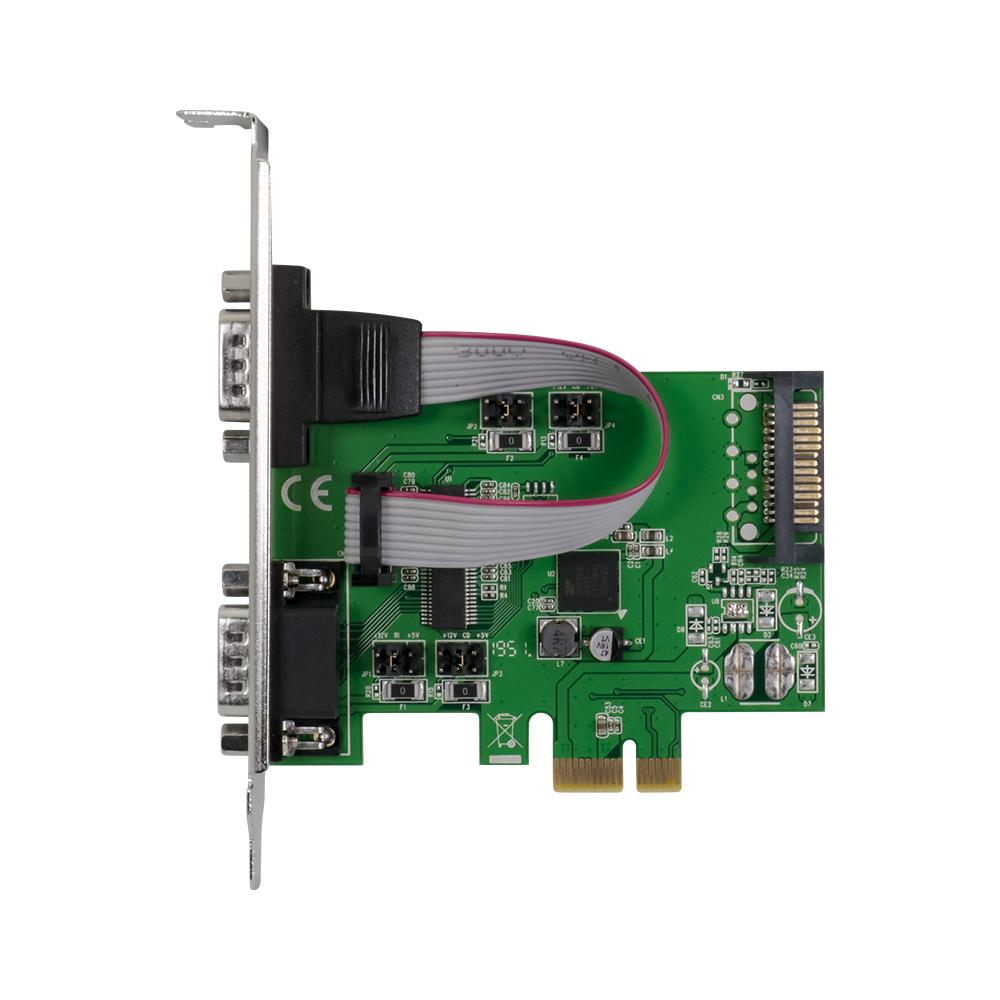 PCI-Express2.0接続 RS232×2ポート インターフェースカード(OWL-PCEX2RS232X2)