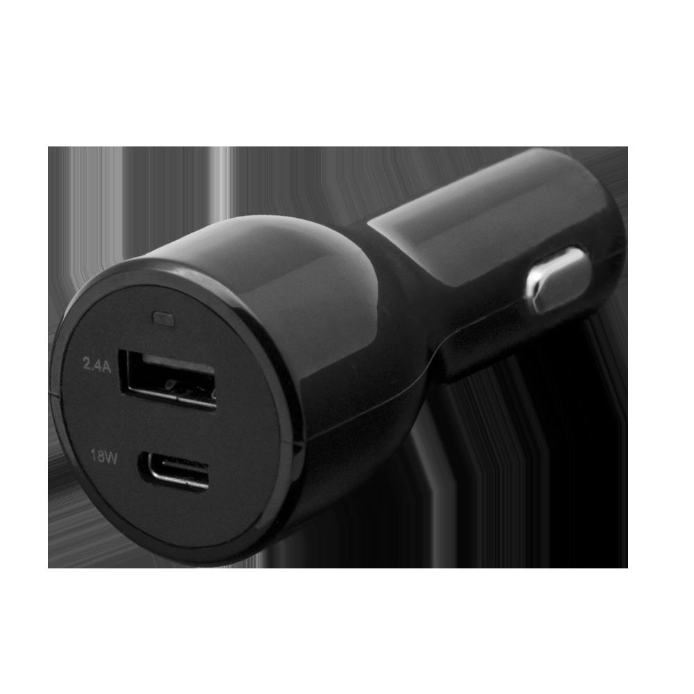 シガーソケット充電器 USB Type-Cポート搭載(OWL-CCU1CPD)宅C