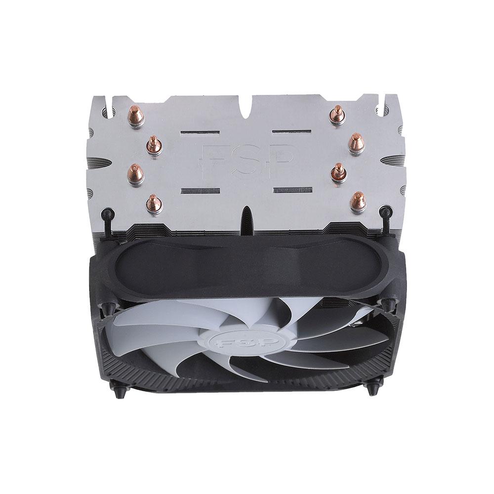 サイドフロー型 CPUクーラー マルチソケット対応 FSP社製 USG lop-ear(AC401)