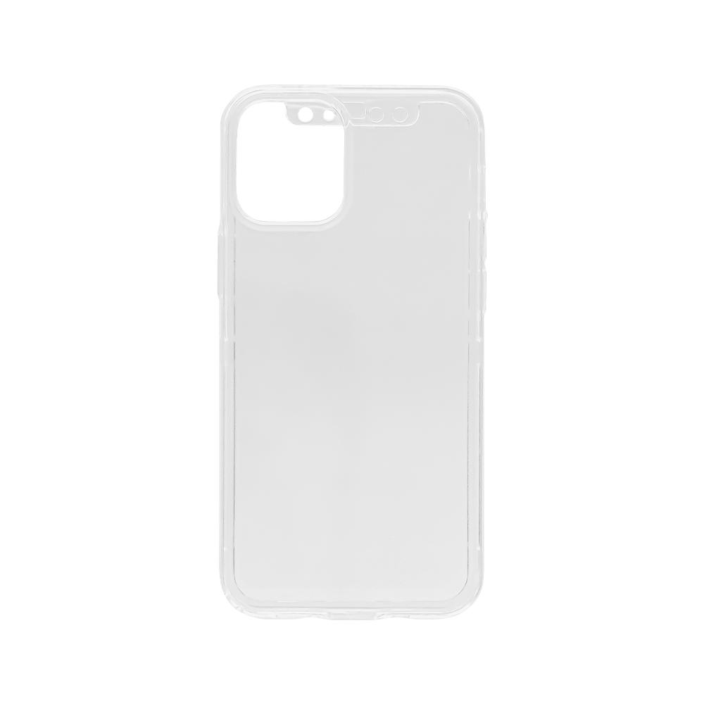 iPhone 12 mini (5.4インチ) 用 360°包み込んでキズから守る 画面保護ガラス付きフルカバーハードケース(OWL-CVIC5410) 宅C
