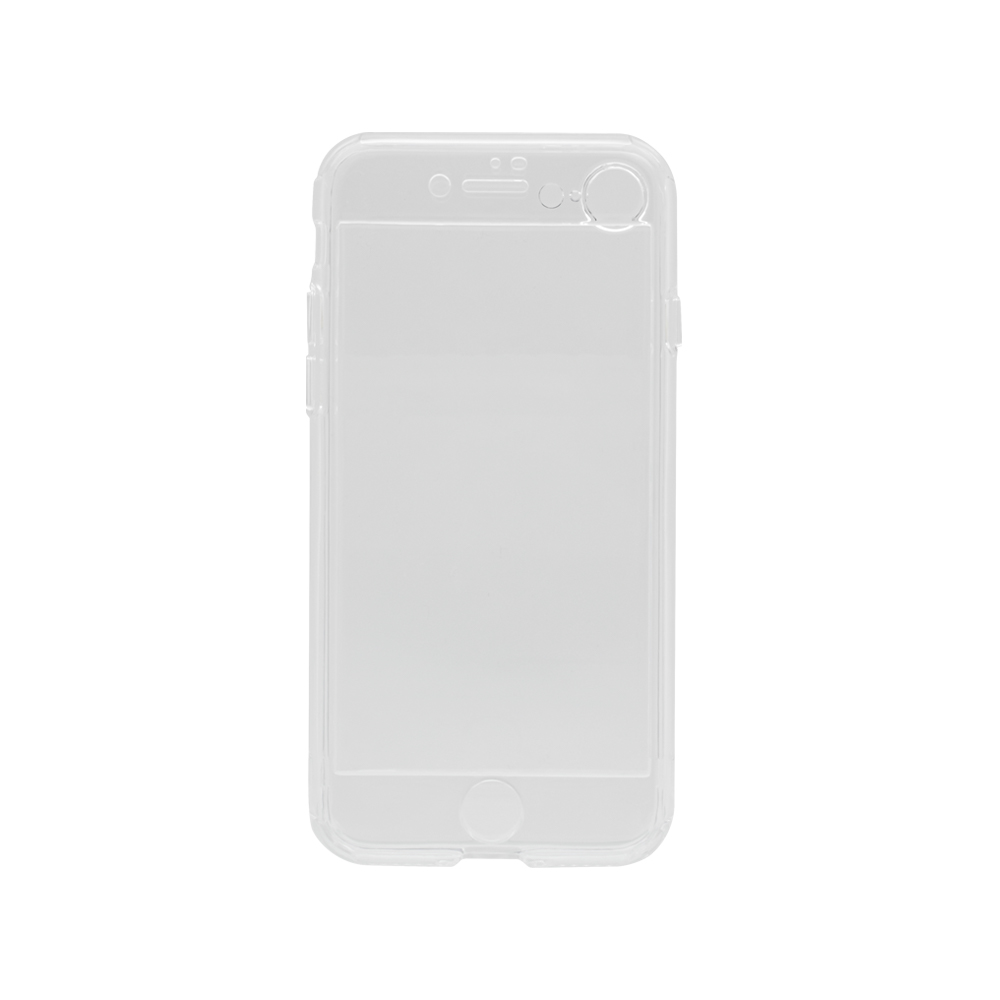 360°包み込んでキズから守る 画面保護マットガラス付きフルカバーハードケース iPhoneSE(第2世代)/8/7対応(OWL-CVIC4711)
