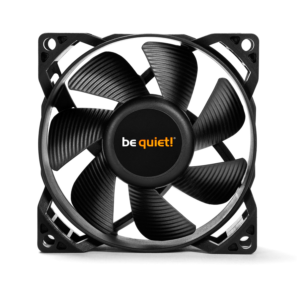 be quiet! 高品質ケースファン スタンダードモデル PURE WINGS 2 80mm (BL044)