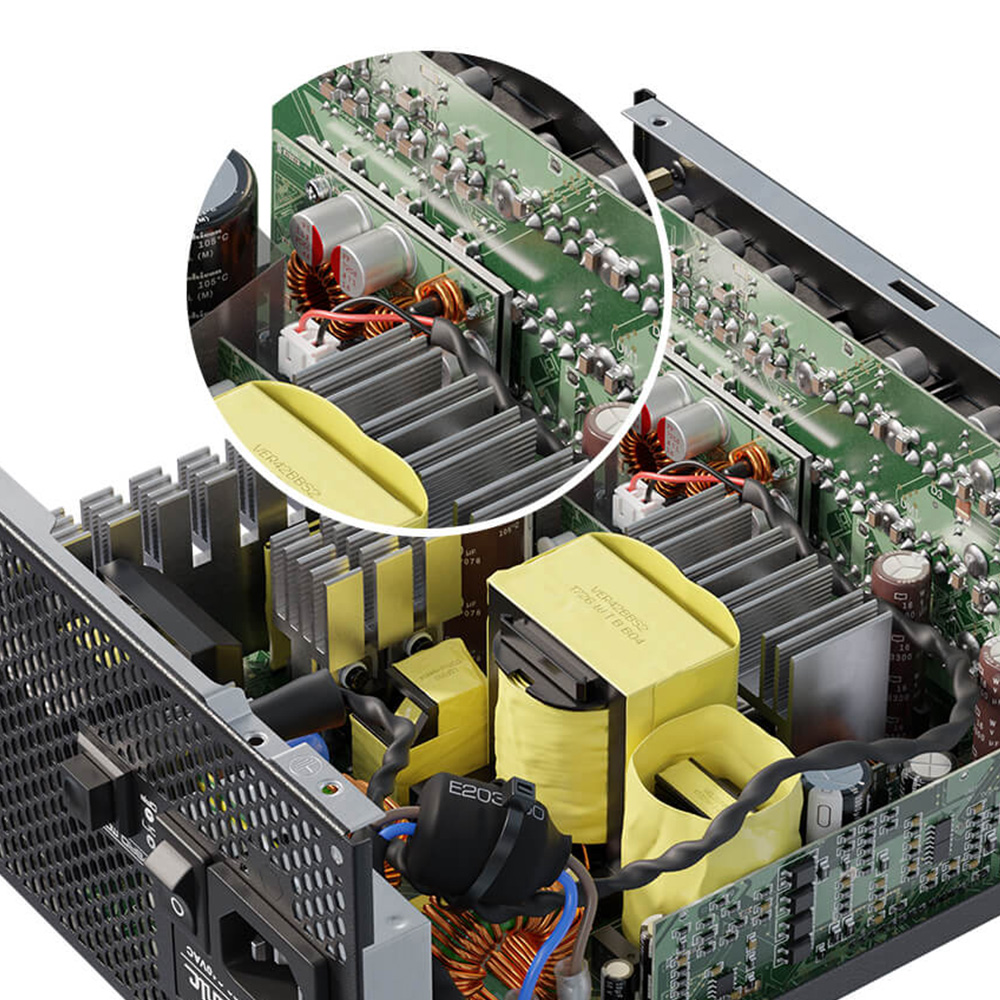 Seasonic製 80PLUS Titanium認証取得 ATX電源 PRIME TX 850W(PRIME-TX-850)