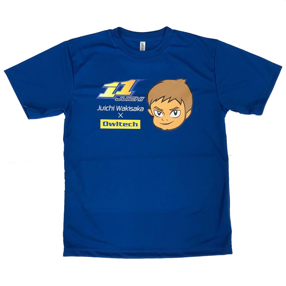 【受注生産:ご注文から2週間前後で発送予定】脇阪寿一 Tシャツ 11JUICH オウルテック(LE-11TS-11OW)宅C