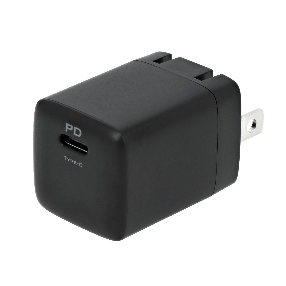 USB Type-C × 1ポート AC充電器 窒化ガリウム採用(OWL-APD20C1G)宅C