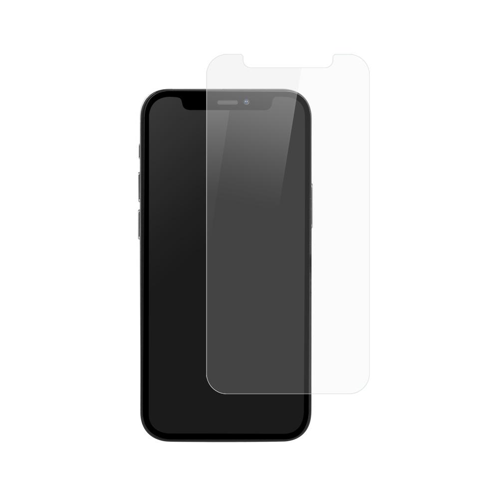 iPhone 12 mini (5.4インチ) 用 貼りミスゼロ かんたん3ステップ貼り付けキット付き 画面保護 強化ガラス 抗菌(OWL-GSIC54-AN) 宅C