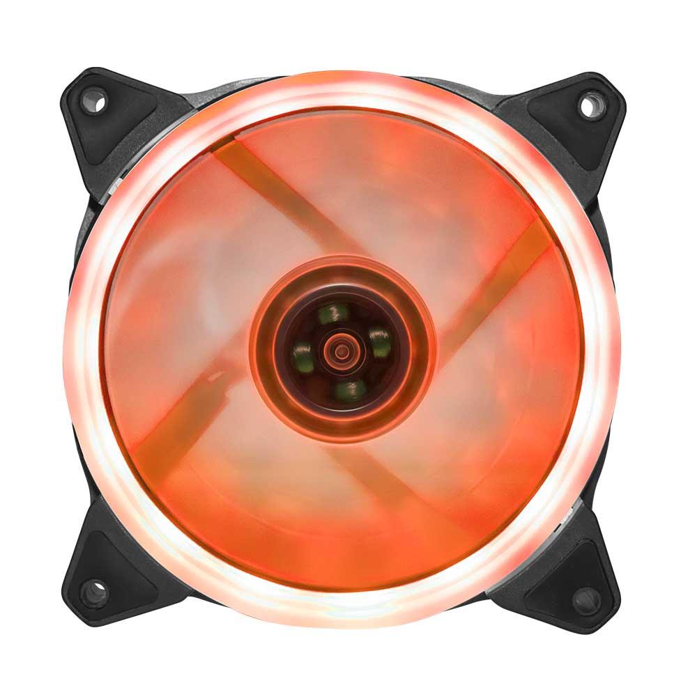 オウルテックオリジナル LEDカバータイプ ケース用ファン 12cm25mm厚 宅C(OWL-FE1225LLC)