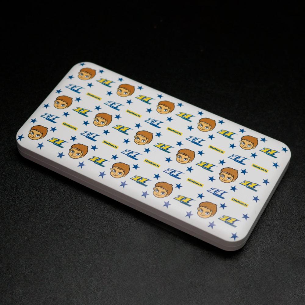 【受注生産:ご注文から2週間前後で発送予定】モバイルバッテリー5000mAh 11JUICH スター (LE-11LB5-2ST)宅C