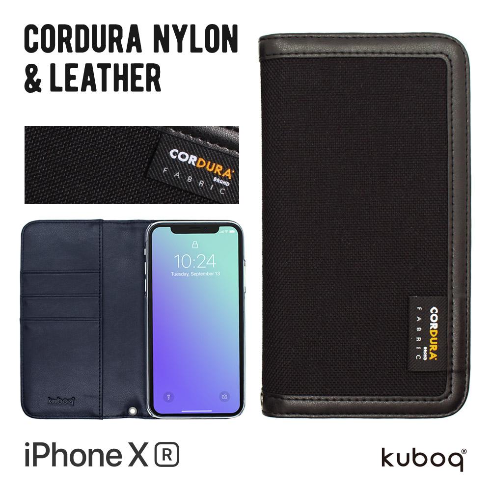 iPhone XR 6.1インチ 手帳型ケース CORDURA(OWL-CVIA6105)