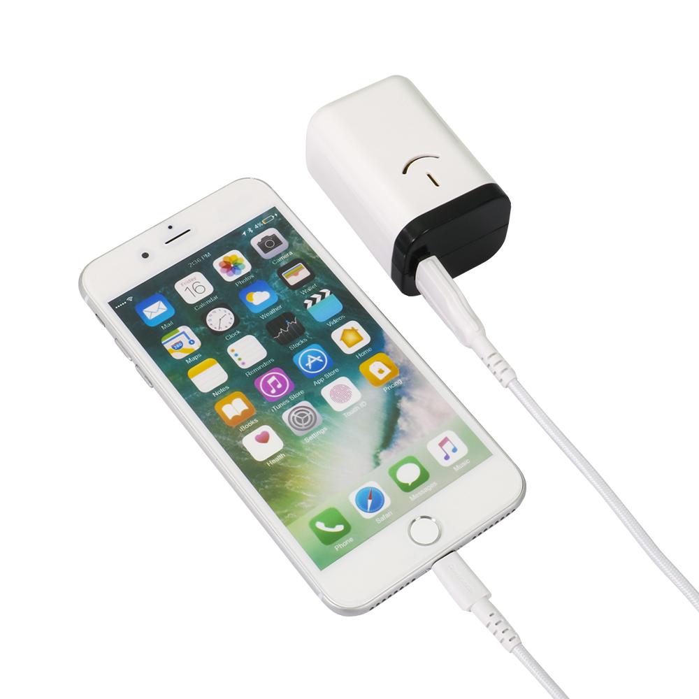 超タフLightningケーブル付き 乾電池式モバイルバッテリー 電池でGO!! USBタイプ (OWL-DBU1MKLT)宅C