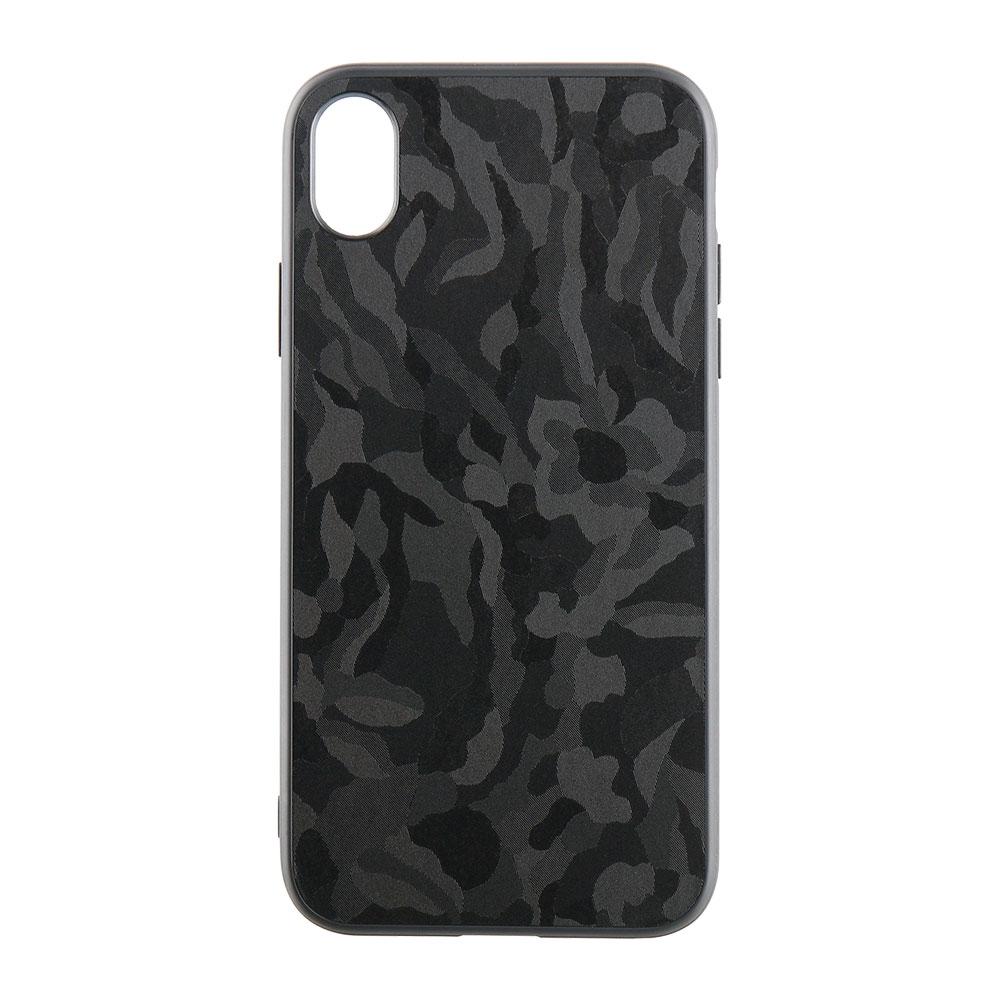 iPhone XR 6.1インチ ハイブリッドケース カモフラージュ(OWL-CVIA6110)