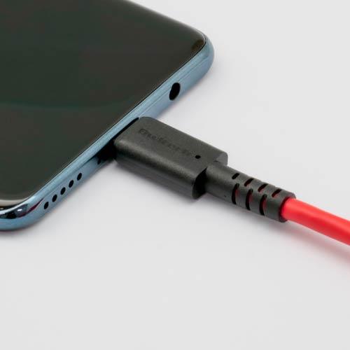 やわらかくて断線に強い USB Type-C to USB Type-Cケーブル 2m(OWL-CBKCCS20)