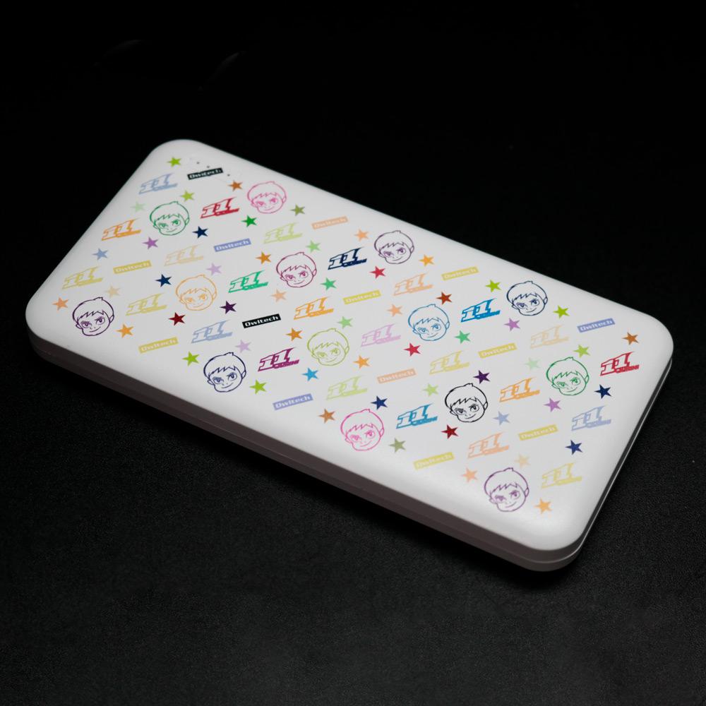 【受注生産:ご注文から2週間前後で発送予定】モバイルバッテリー10000mAh 11JUICH ポップ (LE-11LB10-3PO)宅C